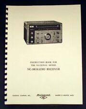 National NC-300 NC300 Radio Receiver Manual