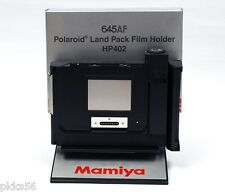 Mamiya 645 AF / AFD / AFD II POLAROID FILM HOLDER / FILM BACK HP402