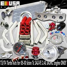 SS Manifold Turbo Kit 08-11 Scion xB Base Wagon 5D 2AZ-FD I4 2.4L DOHC ENGINE