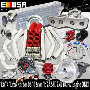 SS Manifold Turbo Kit 02-09 Toyota Camry XLE Sedan 4D 2AZ-FD 2.4L DOHC ENGINE