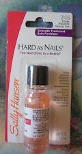 x1 Sally Hansen Hard As Nails HARDENER Natural Tint #2106 Strength Treatment
