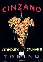 GOLIA (Eugenio Colmo) - CINZANO-uva-mosto-grappolo
