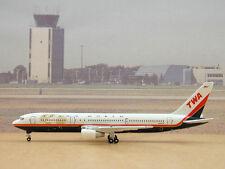 Trans World TWA B767-300 (N639TW), 1:400 Gemini Jets