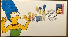 Marge Simpson The Simpsons 2009 FDC First Day Cover Hand Drawn Cachet 1/1 DCP