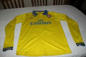 T-Shirt of The Arsenal Brand Nike Size XS Fly Emirates No 11 Ozil Scarce, Shirt