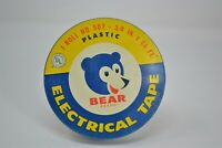 Vintage Bear Brand Electrical Tape Tin by Behr-Manning Co., a Norton Product