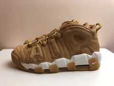 Nike Air More Uptempo 96 Premium Trainers Flax Brown UK 10 EUR 45 AA4060 200