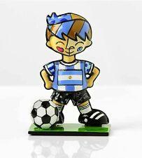 ROMERO BRITTO MINI WORLD CUP SOCCER PLAYER : ARGENTINA  ** NEW **
