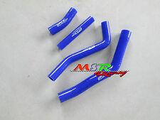 for YAMAHA YZ450F YZF450 2010-2012 10 11 12 Silicone Radiator Hoses Kit blue