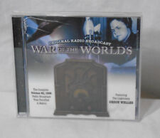 WAR OF THE WORLDS  * CD * 2005 - Orson Welles 1938 Broadcast - Works!