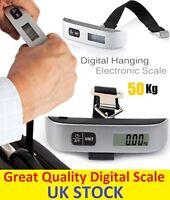 50KG Digital Weighing Luggage Scales Handheld Electronic Travel Suitcase Bags UK