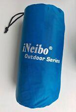 iNeibo Outdoor Series ultralight waterproof blue air mattress - NEW