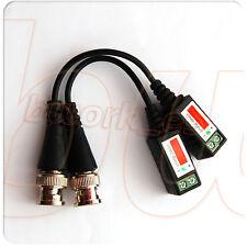 PACK de 4 PARES BNC BALUN PASIVO CON CABLE PARA VIDEO CCTV transceptor Cat5