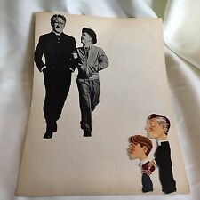 ORIGINAL M-G-M Poster Mickey Rooney & Spencer Tracy