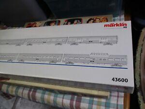 Marklin 43600 Amtrak 6 Car Streamliner Set. Beautiful.Mint.