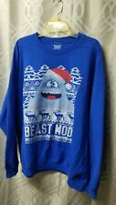 Plus Size 2Xl Abominable Snowman Ugly Christmas Sweater