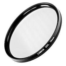 LUMOS 72mm Polfilter CPL Filter passt zu Objektiv Sony E 18-105 SAL 16-50 �˜ 72