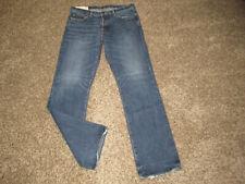MENS ABERCROMBIE & FITCH HORTON CLASSIC STRAIGHT LEG JEANS s 34x34 A&F dark wash