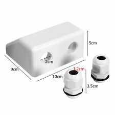 Roof Solar Panel Cable Entry Gland Double Cable Gland Box For Caravan Boat