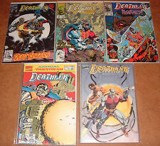 Lot Of 5 Deathlok Comics; Marvel 21 15 24 Annual 1 Brains of the Outfit Infinity