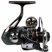Sougayilang Fishing Reel 12+1BB Light Smooth Metal Spinning Reels SaltFreswater