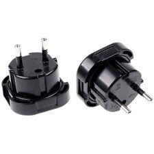 Travel UK to EU Euro Plug AC Power Charger Adapter Converter Socket Sale