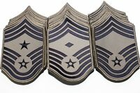 Dealer Lot of 60 US Air Force Chief Master Sergeant Rank Chevron ABU Patches