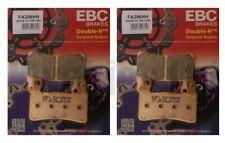 KAWASAKI ZX6R ZX636 edf-eff 2013-2015 Set EBC PASTILLAS DE FRENO DELANTERAS HH