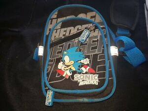 Official Sega Sonic The Hedgehog Gaming Shoulder Messenger Bag