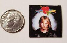 "Dollhouse Miniature Record Album 1"" 1/12 scale Barbie Tom Petty Heartbreakers B"
