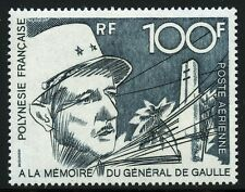 Frz. Polynesien Polynesia 1972 Charles de Gaulle General Politiker 157 MNH