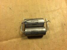 2 Nos Vintage Russian Pio .1 uf 400v Capacitors K40Y-9 Oil Guitar Amp Cap Tested