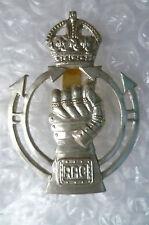 Badge - 2nd Pattern Royal Armoured Corps Cap Badge (White Metal)