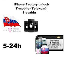 Factory Unlock  iPhone 6s 6+ 6 5s 5c   locked on Slovakia  T-Mobile  all IMEI