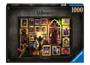 Ravensburger Disney Villainous Jafar 1000 Piece Jigsaw Puzzle! New never opened.
