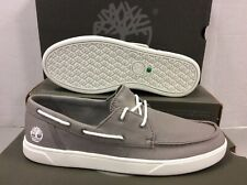 Timberland Bayham Boat 2-Eye Canvas Mens Sneakers Shoes, Size UK 6.5 / EUR 40