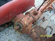 INTERNATIONAL FARMALL CUB TRACTOR TRANSMISSION, REAR END ASSM, DIFFERENTIAL PTO