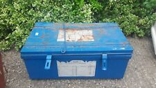 Trunk/storage chest - lift-up lid - metal