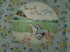 More details for bnwt cath kidson rare happy horse  & strolling sheep side plates