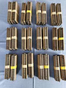 Märklin, 20 Stück gerade Gleisstücke M 5106, gebraucht  (12 Sätze vorhanden)