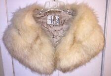 "Vintage Fox Fur Wrap Stole Boa Shawl. 42"" Long"
