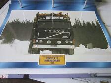 Super Trucks Frontlenler Schweden Volvo F12 Intercooler 1983