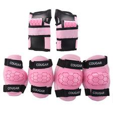 Pink Boys Girls Kids Child Skate Cycle Knee Set Elbow Wrist Safety Pad WS L Y1W4
