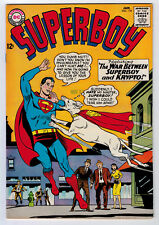 Superboy #118 7.0 Higher Grade 1965 Off-White/White Pages
