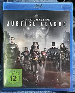 Zack Snyder's (Snyders) Justice League - Blu-ray Wie Neu - Deutsche Version!