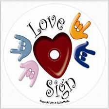 American Sign Language cd Dictionary Book Flash Cards Words Basic  ASL Learn