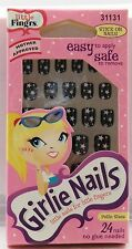 Fing'rs Girlie Nails - 31131 - Pink Stars