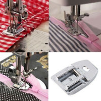 1 Pcs Invisible Concealed Snap On Zipper Zip Foot For Domestic Sewing Machine