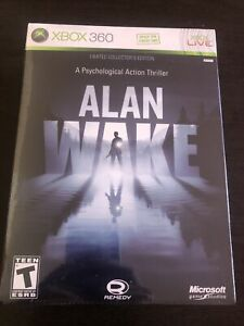 Alan Wake - Limited Collector's Edition - Xbox 360 new sealed