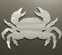 Crab Ocean Aluminum Metal Wall Art Skilwerx Nautical Marine Beach House Decor